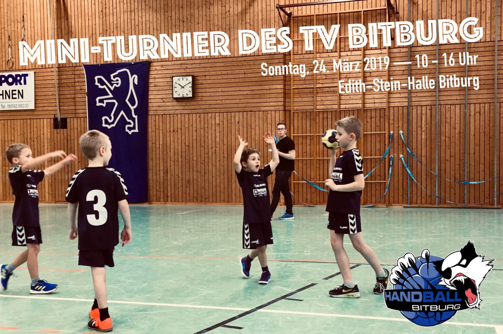 TV Bitburg veranstaltet Mini-Turnier