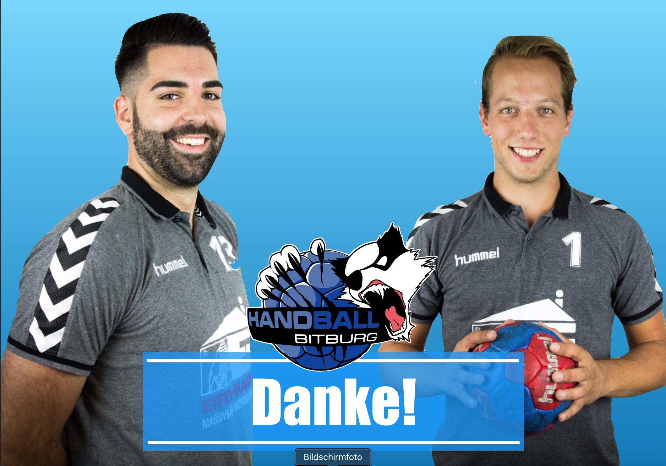 Dennis Schwerdt und Alex Sonnen verlassen den Tv Bitburg zum Saisonende