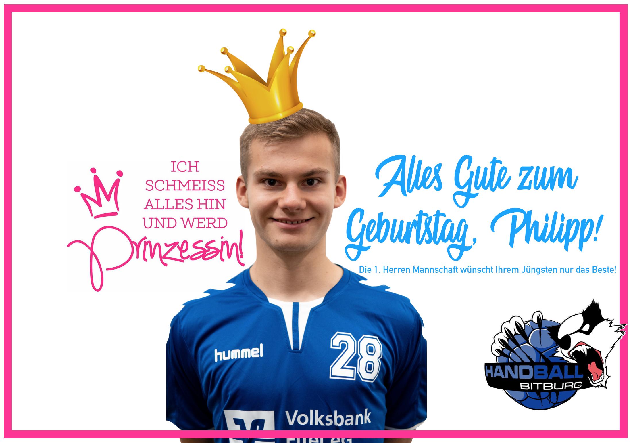 Happy Birthday Philipp!