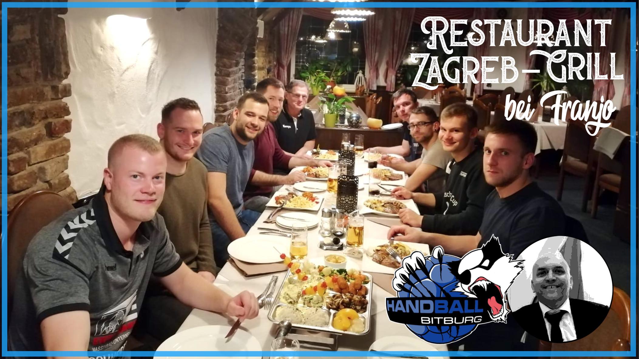 Zu Gast bei Freunden – 1. Herren im Zagreb-Grill