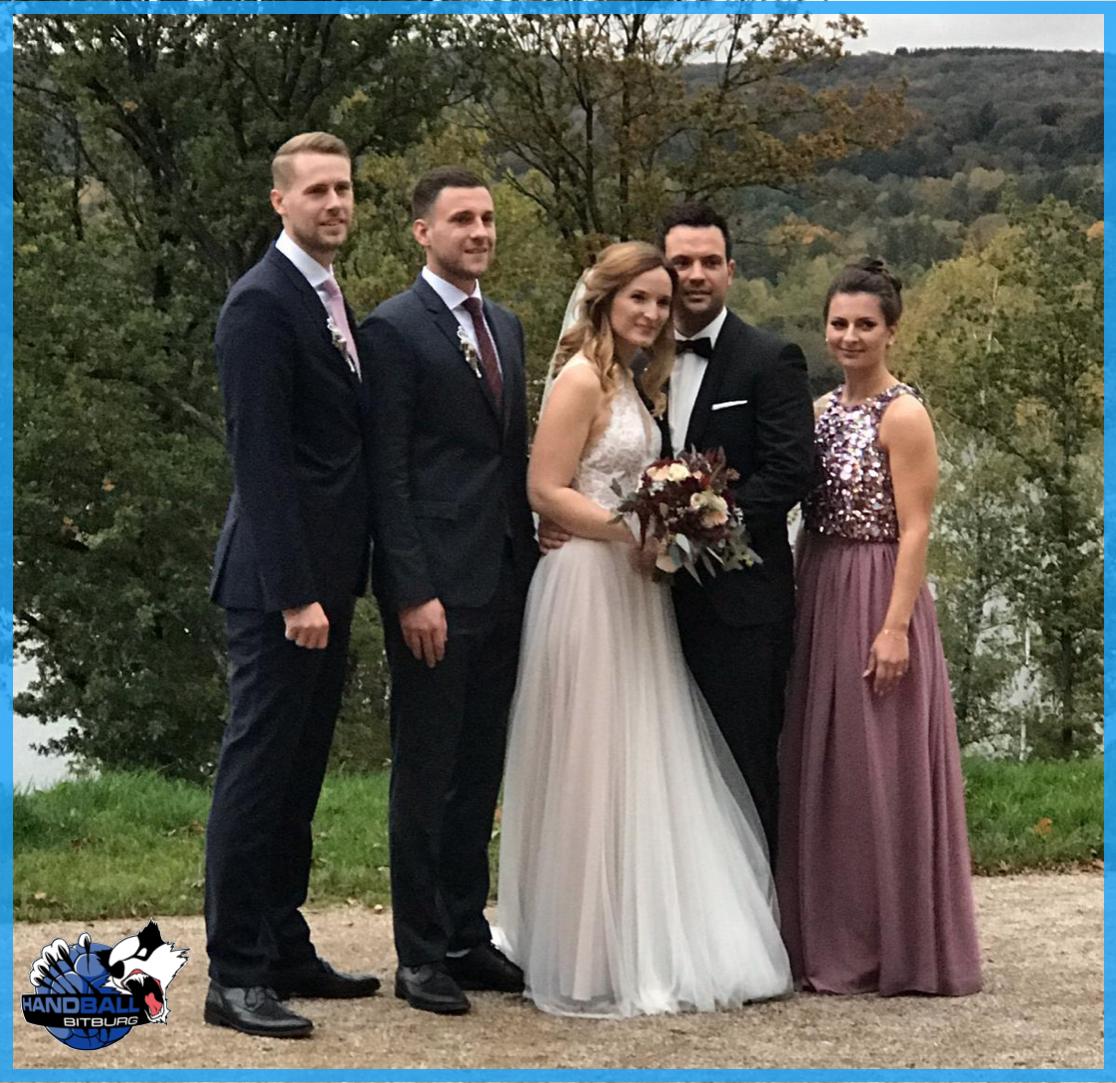 Der TVB gratuliert: Marc Hagemann hat geheiratet!