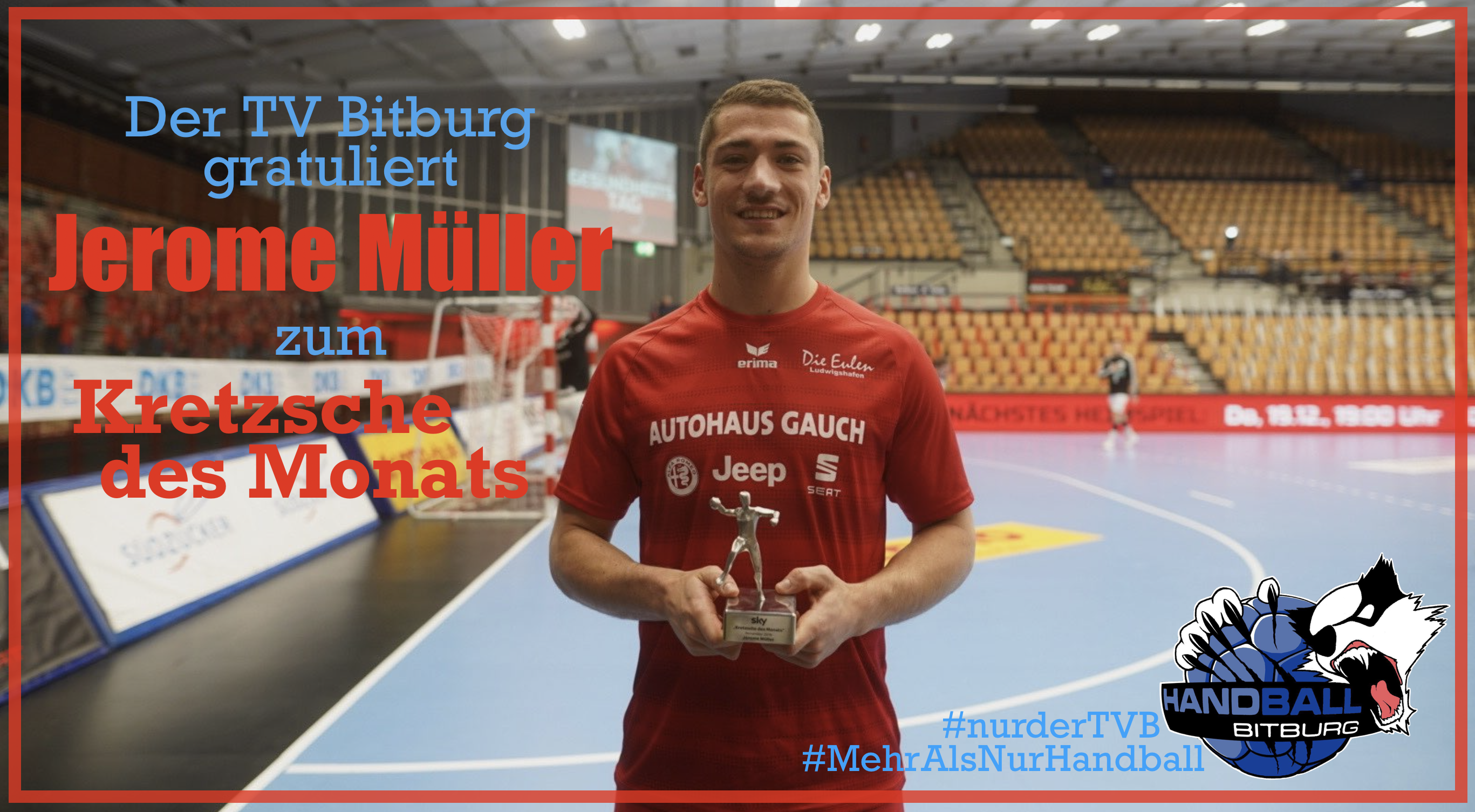 Jerome Müller gewinnt den #KretzscheDesMonats