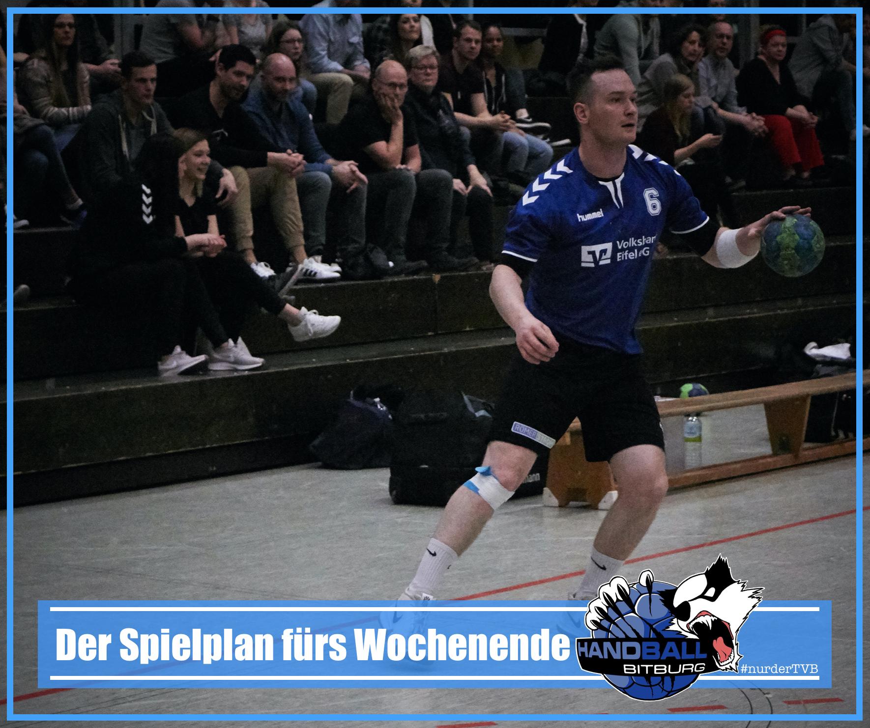 Endlich wieder Handball – Spielplan und Vorberichte zum Wochenende