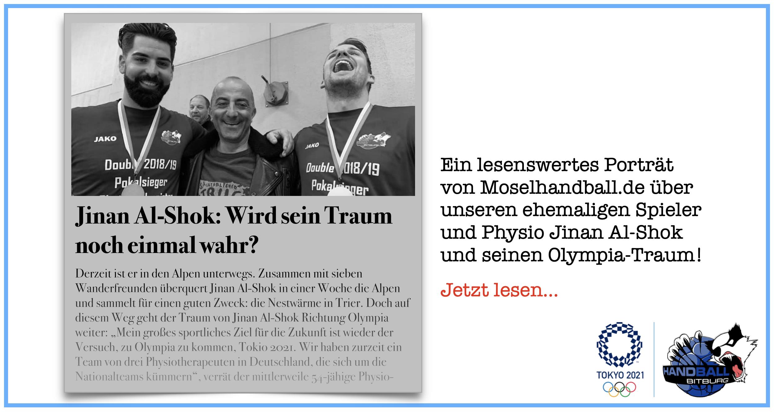 Jinan Al-Shok und sein Olympia-Traum im Porträt