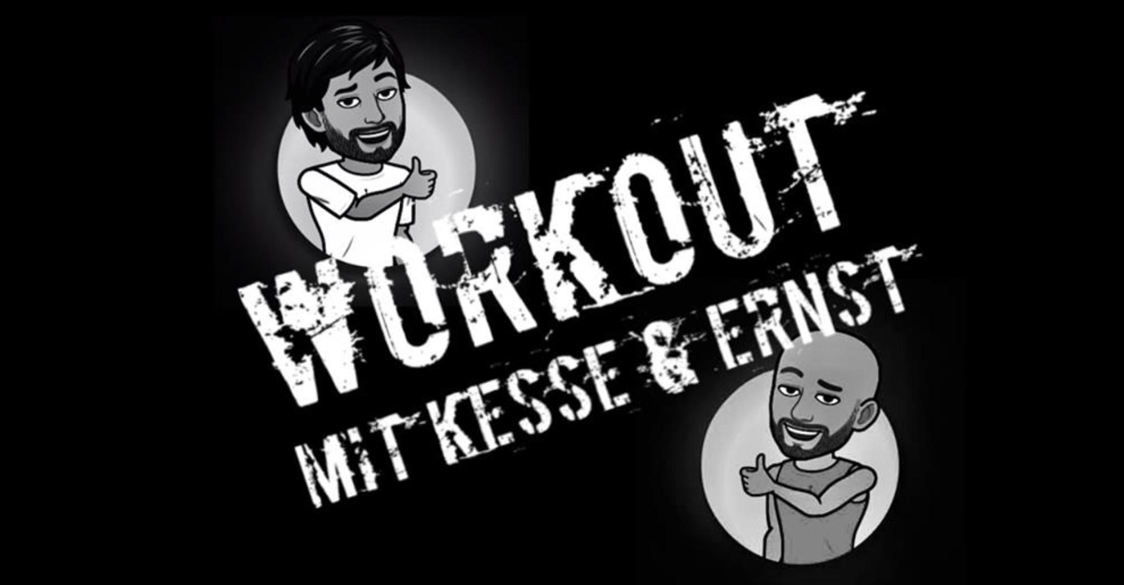 Fit bleiben mit Philipp Kesse und Marc Ernst – Workout Nr. 4