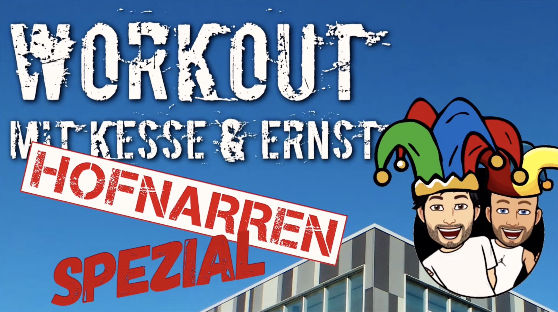 Passend zum Karneval: Workout Nr. 7 im Hofnarren Spezial