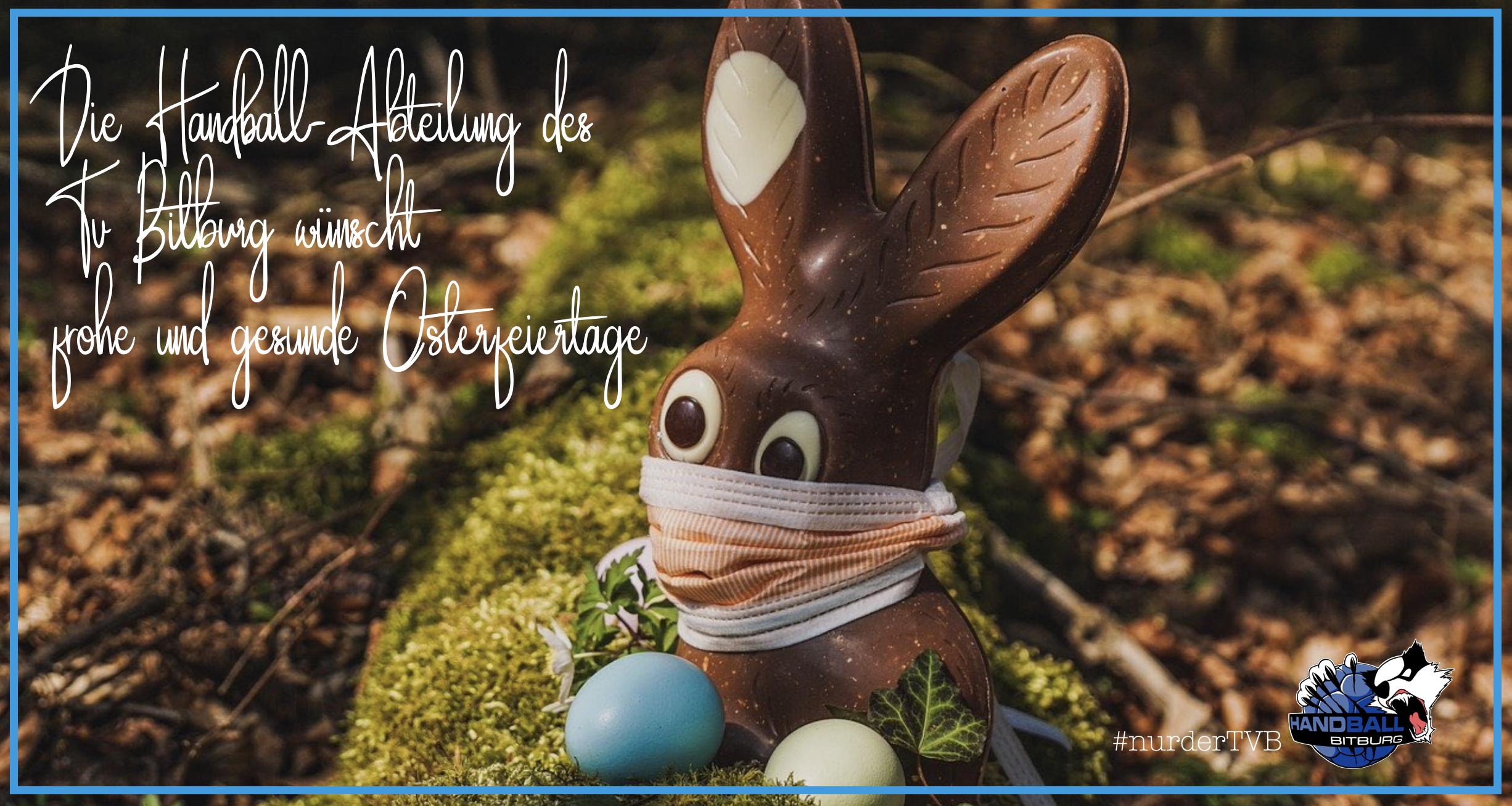 Wir wünschen Euch frohe Osterfeiertage!