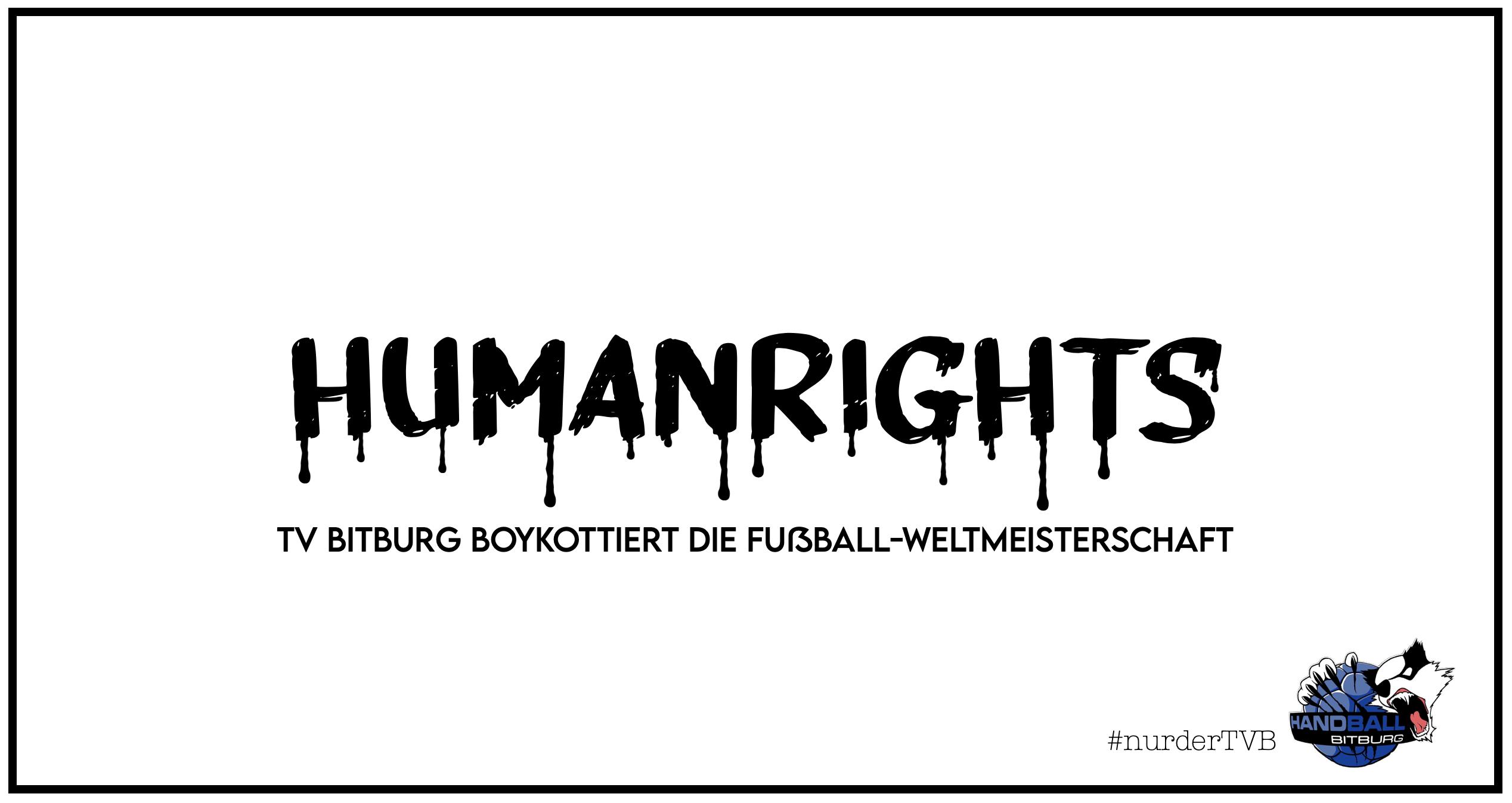 Der TV Bitburg boykottiert die Fußball-Weltmeisterschaft 2022 in Katar