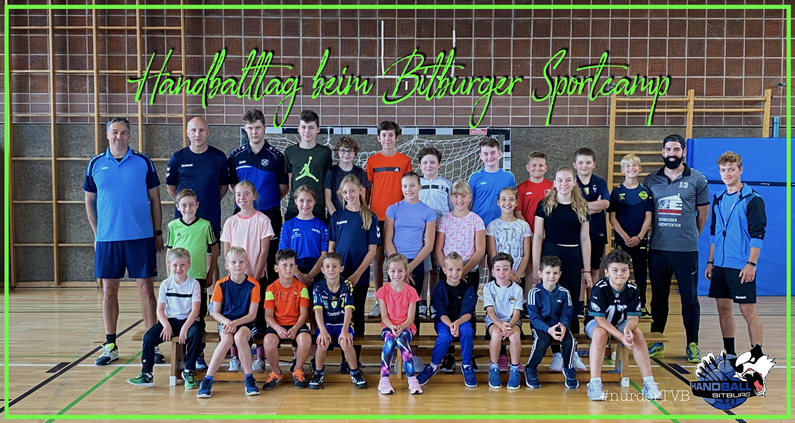 Handballtag beim Bitburger Sportcamp
