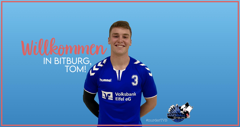 Herzlich Willkommen in Bitburg, Tom!