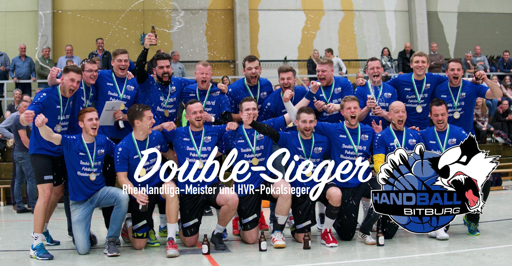 Die 1. Herren Mannschaft ist Rheinlandliga-Meister und Double-Sieger