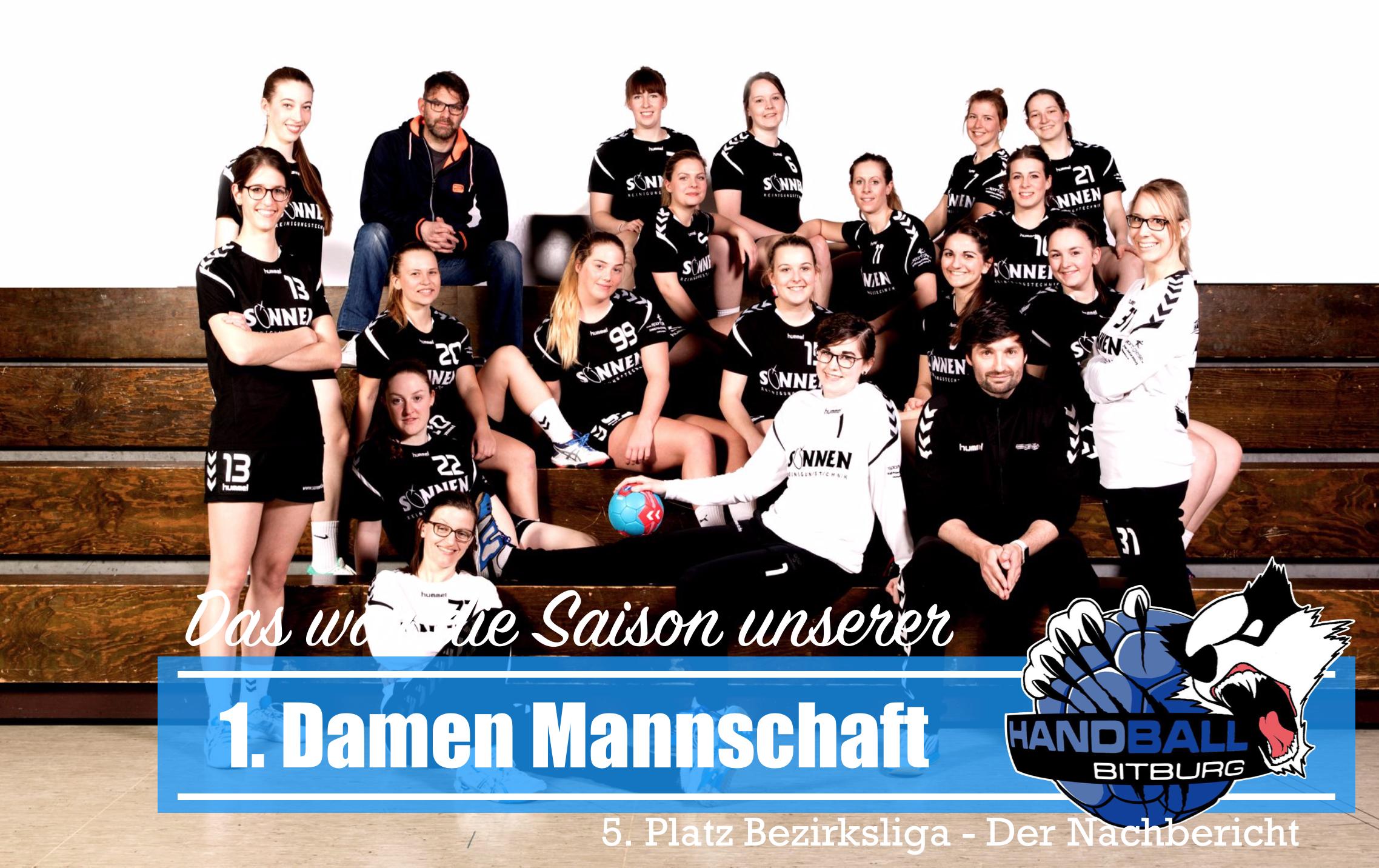 Saison Nachbericht der TV Bitburg Handball Damen